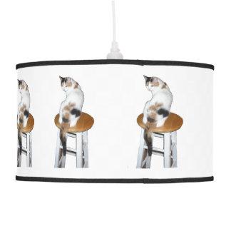 Calico Cat Pendant Lamp