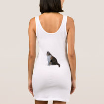 Calico Cat Sleeveless Dress