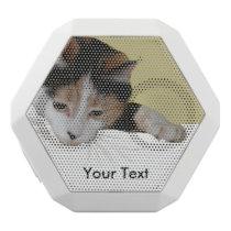 Calico Cat White Bluetooth Speaker
