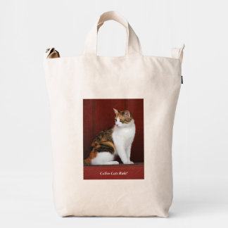 Calico Cats Rule! Duck Bag