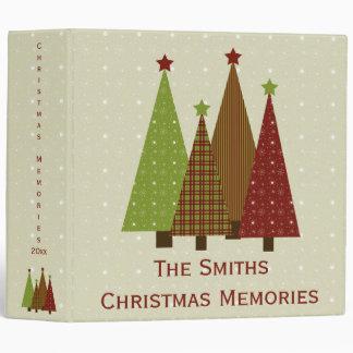 "Calico Christmas Trees 2"" Photo Binder"