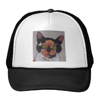 calico face trucker hat