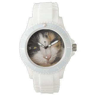 Calico Face Wristwatch