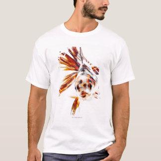 Calico Fantail Comet goldfish (Carassius T-Shirt