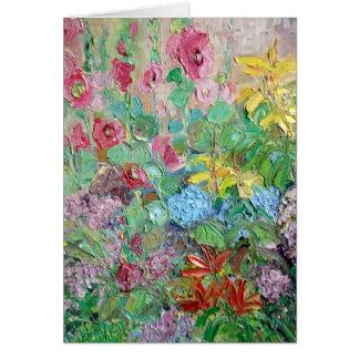 Calico Garden Card