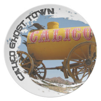 Calico Ghost Town Plate! Plate