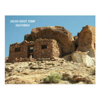 Calico Ghost Town Postcard! Postcard