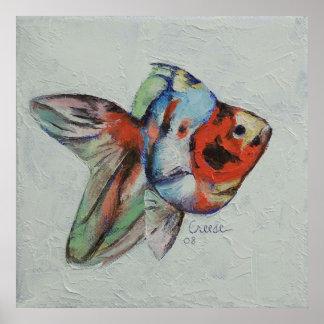 Calico Goldfish Print