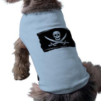 Calico Jack Flag Pet T Shirt