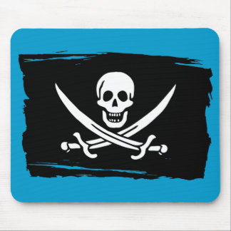 Calico Jack Flag Mouse Pad