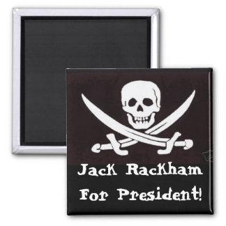 Calico Jack for Prez Magnet