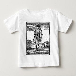 Calico Jack Portrait Baby T-Shirt
