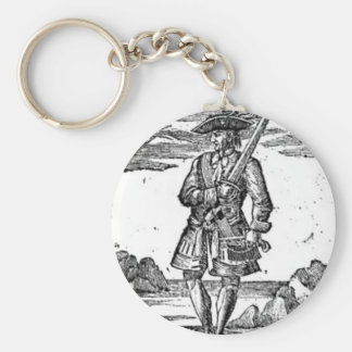 Calico Jack Portrait Key Chain