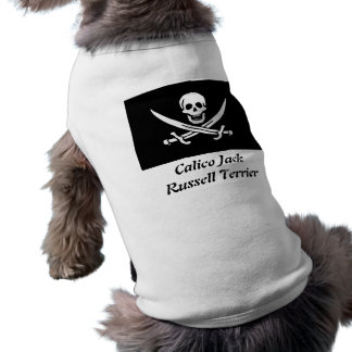 Calico Jack Russell Terrier Pet Shirt