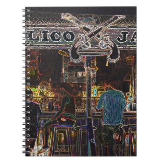 Calico Jacks Grand Cayman Island Spiral Notebook