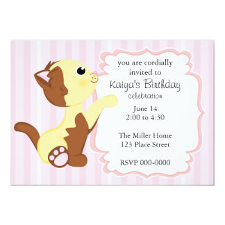 Calico Kitten Card