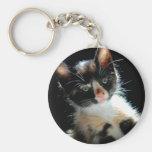 Calico Kitten Keychain