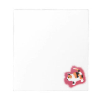 Calico Kitten Note Pad