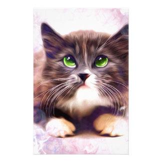 Calico Kitten Stationery