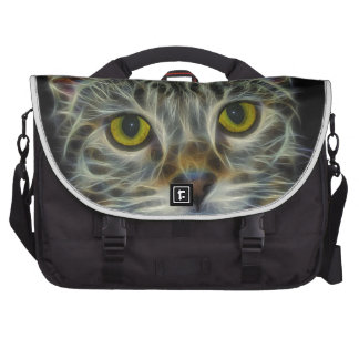 Calico Kitty by Edmond Hogge Jr Laptop Commuter Bag