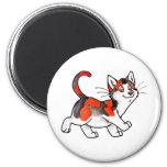 Calico Kitty Refrigerator Magnet