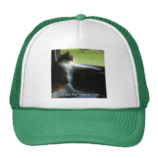 Calico Kitty The Simple Life Trucker Hat