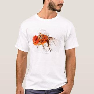 Calico lionhead goldfish (Carassius auratus). T-Shirt