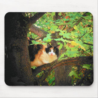 Calico Maple Mouse Pad