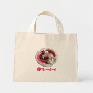 Calico Munchkin Cat Tote Mini Tote Bag