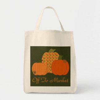 Calico Pumpkin Trio Bag