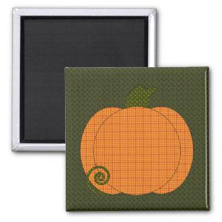 Calico Pumpkin Trio Magnet