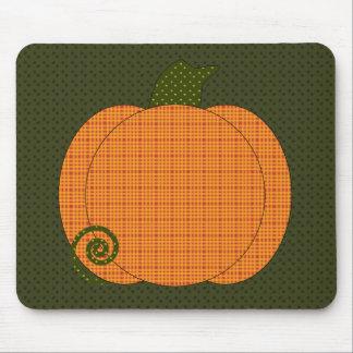 Calico Pumpkin Trio Mousepad