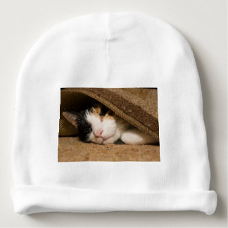 Calico Under The Rug Baby Beanie