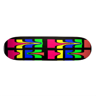 Calicolor skateboard custom skate board