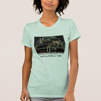 Calidad 1976-1999- SD-80MAC #4118 de Conrail Camiseta