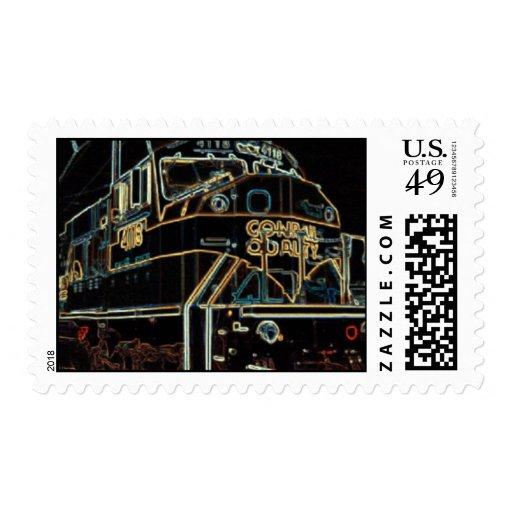 Calidad 1976 - 1999, SD-80MAC #4118 de Conrail Sellos