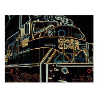 Calidad 1976 - 1999, SD-80MAC #4118 de Conrail Tarjeta Postal
