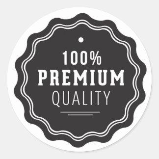 Calidad del premio del 100% pegatina redonda