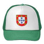 Calidad portuguesa de la bandera gorras de camionero