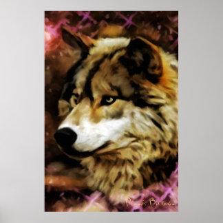Calidades del lobo poster