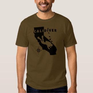 CALIDIVER Blk Shirts