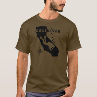 CALIDIVER Blk Shirts