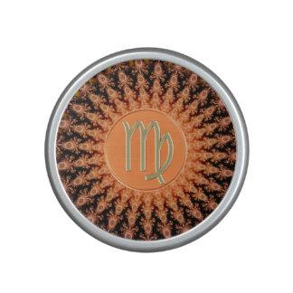 Caliente al virgo de la muestra del zodiaco del altavoz bluetooth