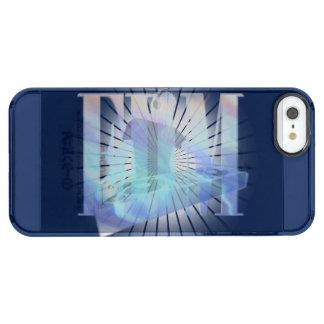 ¡CALIENTE AZUL ELÉCTRICO DE EDM!!! FUNDA CLEARLY™ DEFLECTOR PARA iPhone 5 DE UNCOMMON