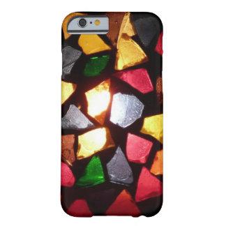 Caliente el modelo colorido ligero del vidrio de funda de iPhone 6 barely there
