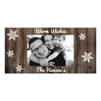 Caliente el navidad del personalizable de los tarjetas fotograficas personalizadas