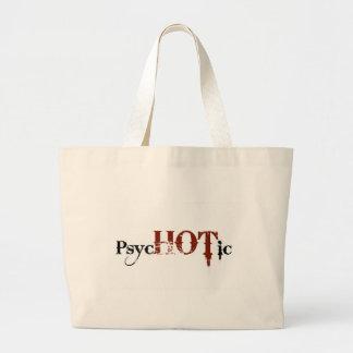 Caliente en psicópata bolsa tela grande