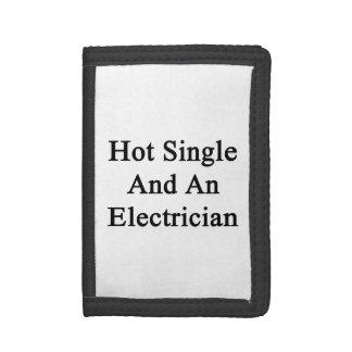 Caliente escoja y un electricista