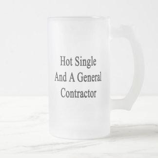 Caliente escoja y un general Contractor Taza De Cristal