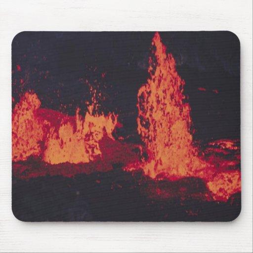 Caliente-lava, mousepad alfombrillas de raton